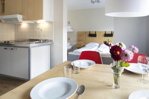 Lägenhet (2 personer) (exkl. frukost)