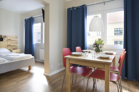 Lägenhet (1 person) (exkl. frukost)