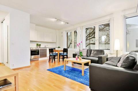 Bislett - One-bedroom apartment (2 beds)